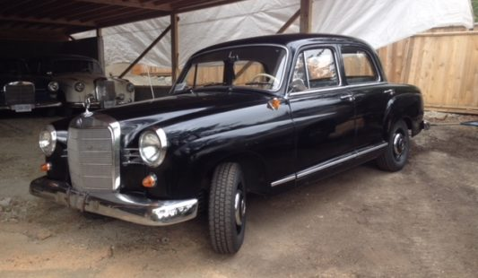 Mercedes 190D Ponton