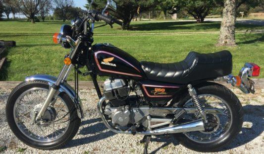 Honda 250 Custom